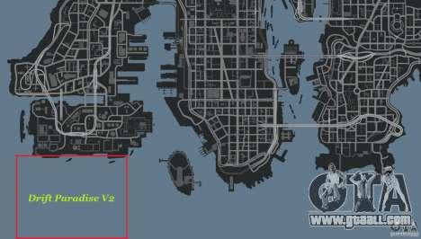 Drift Paradise V2 for GTA 4 eighth screenshot