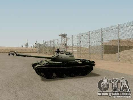 Type 59 for GTA San Andreas left view
