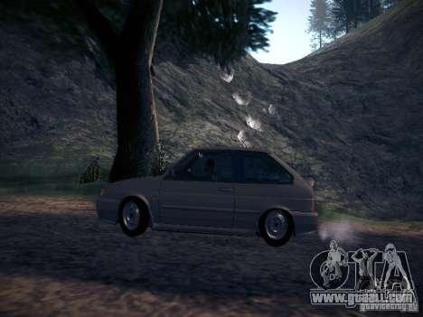 Vaz 2113 Drain for GTA San Andreas left view