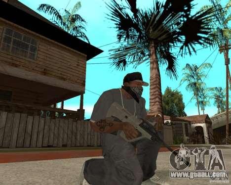 AUG HBAR with with an eye for GTA San Andreas second screenshot