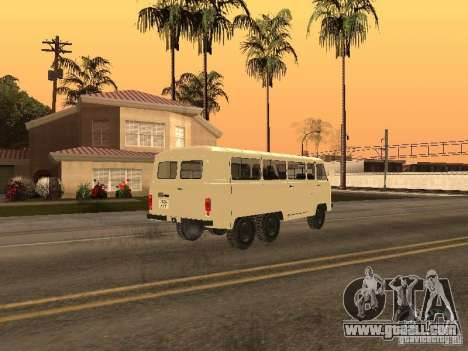 UAZ 452K for GTA San Andreas left view