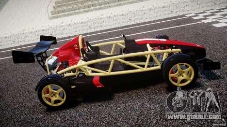 Ariel Atom 3 V8 2012 Custom Mugen for GTA 4 left view