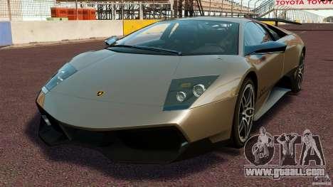 Lamborghini Murcielago LP670-4 SV [EPM] for GTA 4