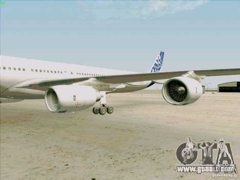 Airbus A-340-600 for GTA San Andreas inner view