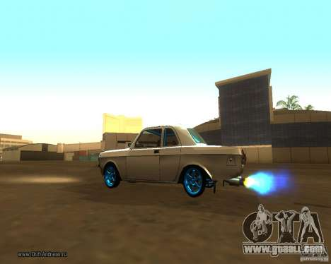 Gaz Volga 2410 Drift Edition for GTA San Andreas side view