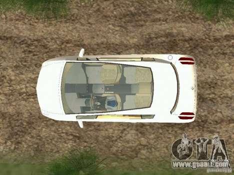 Renault Vel Satis for GTA San Andreas right view