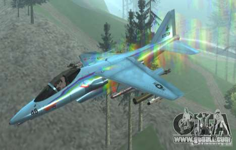 RainbowDash Hydra for GTA San Andreas right view
