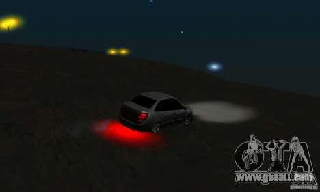 Lada Granta Light Tuning for GTA San Andreas side view