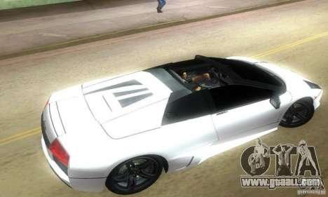 Lamborghini Murcielago LP640 Roadster for GTA Vice City left view