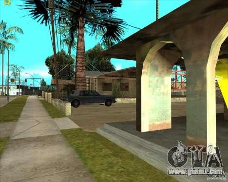 Car in Grove Street for GTA San Andreas fifth screenshot