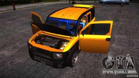 Honda Element LX for GTA San Andreas upper view