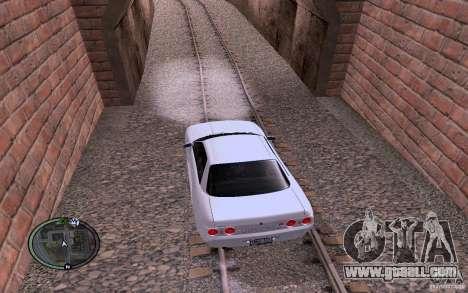 Russian Rails for GTA San Andreas forth screenshot