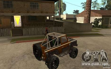 Land Rover Defender Extreme Off-Road for GTA San Andreas right view