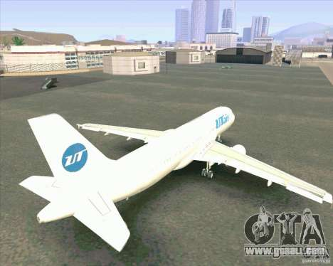 Airbus A-320 airline UTair for GTA San Andreas inner view