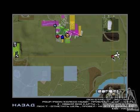 Base Gareli for GTA San Andreas seventh screenshot