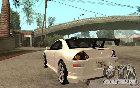 Mitsubishi Eclipse 2003 V1.5 for GTA San Andreas back left view