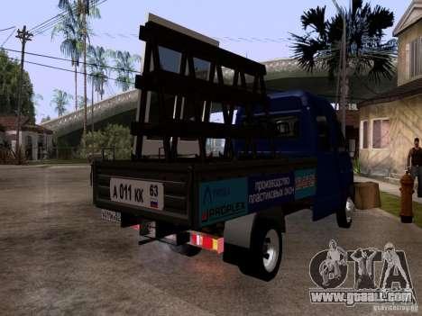 Gazelle 33023 for GTA San Andreas back left view