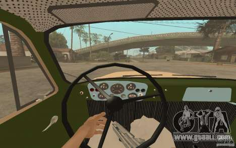 Gaz-52 for GTA San Andreas interior