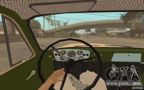 Gaz-52 for GTA San Andreas interior
