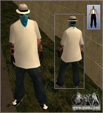 Skin Pack Getto for GTA San Andreas eighth screenshot