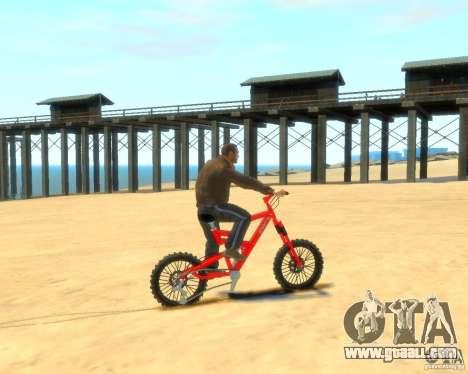 Mountain bike for GTA 4 left view