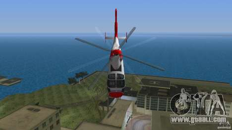 Eurocopter As-365N Dauphin II for GTA Vice City side view