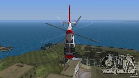 Eurocopter As-365N Dauphin II for GTA Vice City side view