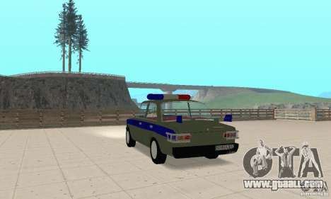 VAZ 2101 Police for GTA San Andreas left view