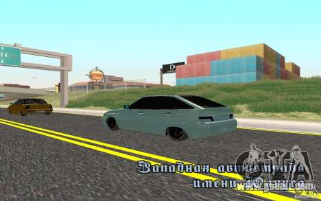 VAZ-2112 Light Tuning for GTA San Andreas left view
