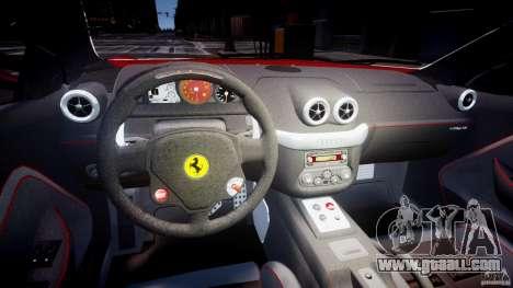 Ferrari 599 GTB Fiorano for GTA 4 back view