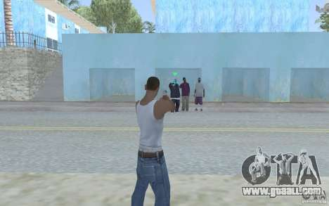 Blue sight for GTA San Andreas second screenshot