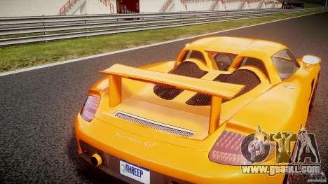 Porsche Carrera GT [EPM] for GTA 4 upper view