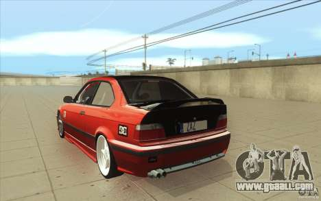 BMW Fan Drift Bolidas for GTA San Andreas back left view