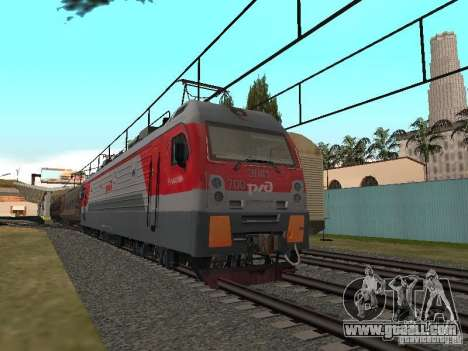RAILWAY mod IV final for GTA San Andreas fifth screenshot