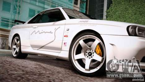 FM3 Wheels Pack for GTA San Andreas forth screenshot