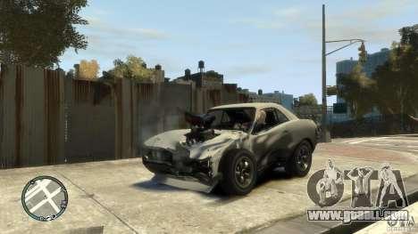 Mini Dukes for GTA 4 back view