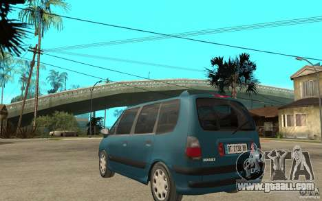 Renault Espace III 1999 for GTA San Andreas back left view