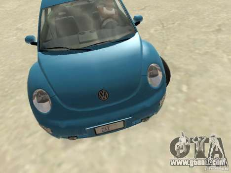VW Beetle 2004 for GTA San Andreas left view