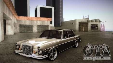 Mercedes Benz 300 SEL - Custom RC3D Edit for GTA San Andreas