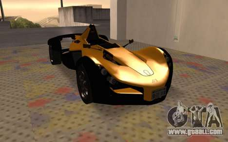 BAC Mono for GTA San Andreas