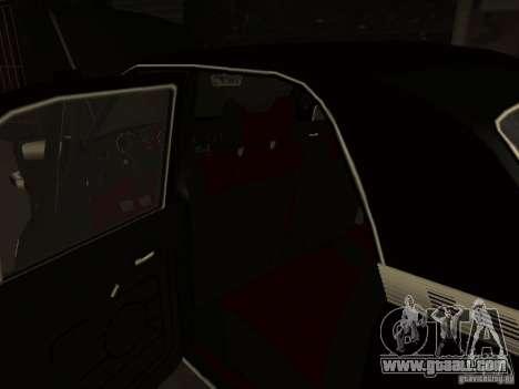 GAZ 3102 for GTA San Andreas upper view