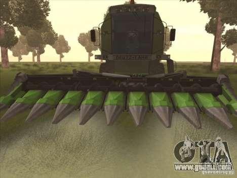 Deutz Harvester for GTA San Andreas left view