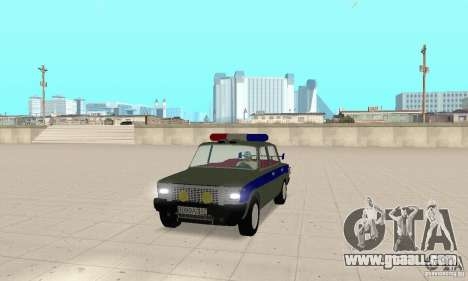 VAZ 2101 Police for GTA San Andreas