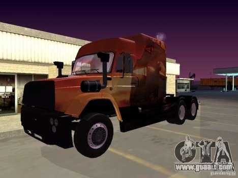 SuperZiL v. 1 .0b for GTA San Andreas