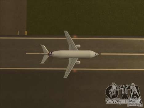 Airbus A300-600ST Beluga for GTA San Andreas right view