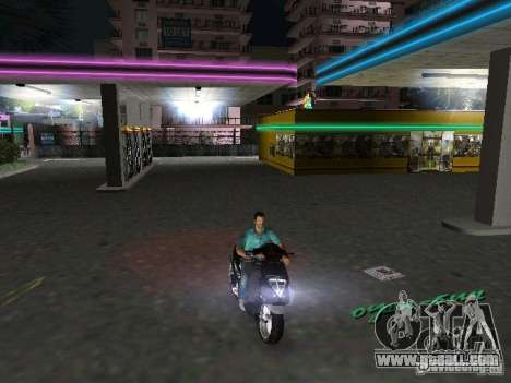 PIAGGIO NRG MC3 for GTA Vice City