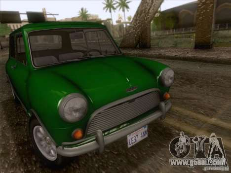 Austin Cooper S 1965 for GTA San Andreas right view