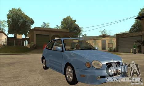 Toyota Corolla G6 Compact E110 US for GTA San Andreas back view