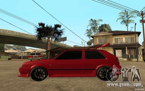 Volkswagen Golf 2 GTI Tuned for GTA San Andreas left view