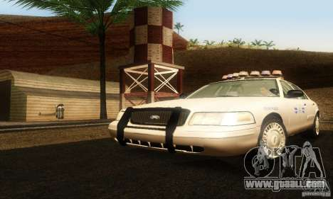 Ford Crown Victoria Rhode Island Police for GTA San Andreas